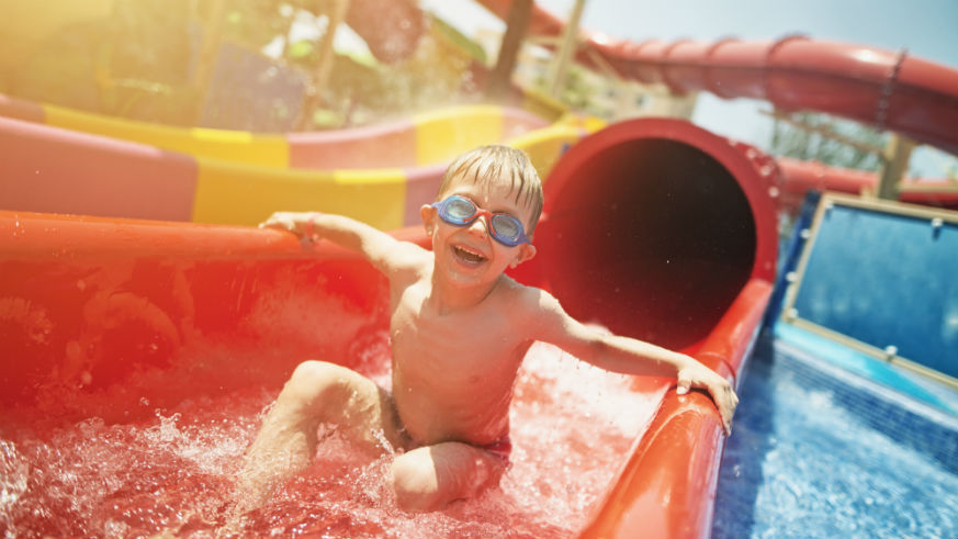 The best water parks on the East Coast
