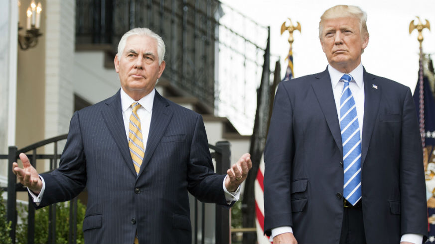 What is Donald's Trump IQ Tillerson