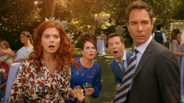 will and grace season 10 premiere wedding jack karen