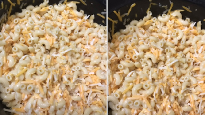 This is not how you do mac&cheese, because there are apparently people who need to be told. Credit: @coolstoryjanis, Twitter