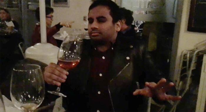 Aziz Ansari, Eric Wareheim release hilarious parody video to Kanye West's 'Famous'