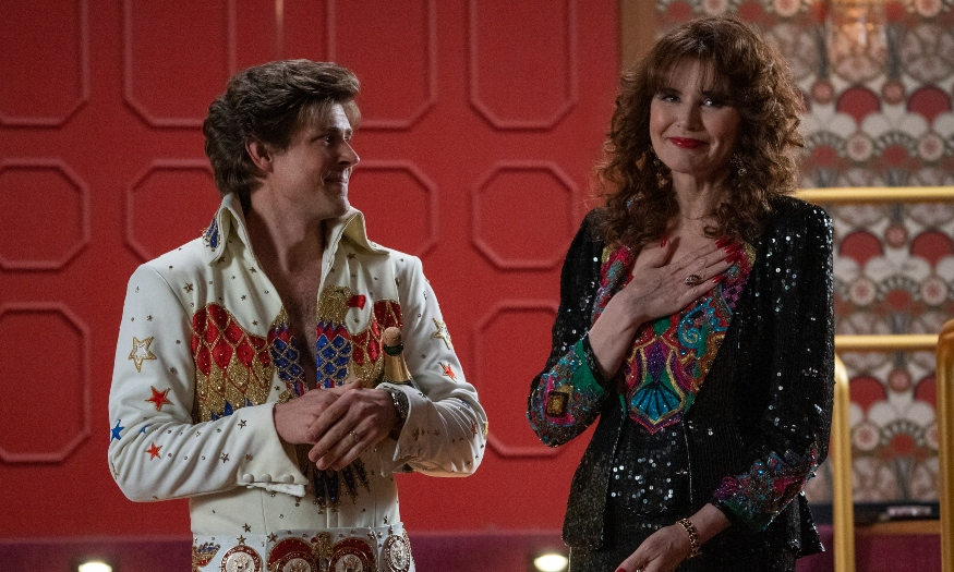 Actor Chris Lowell on season 3 of 'Glow' and being on set with Geena Davis