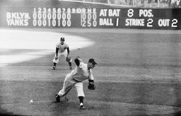 Don Larsen. (Photo: Getty Images)