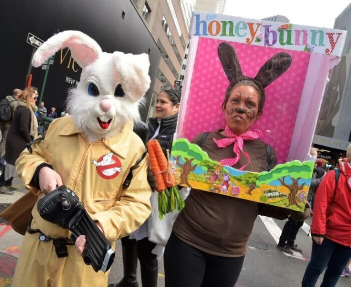 NYC Easter Day Parade and Bonnet Festival