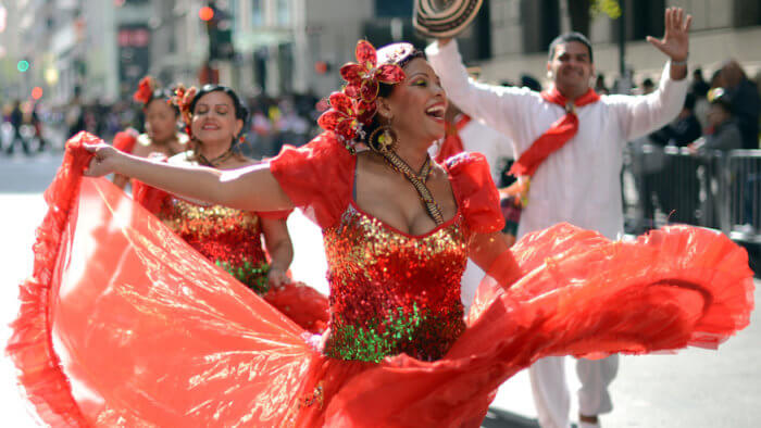 Hispanic Day Parade NYC