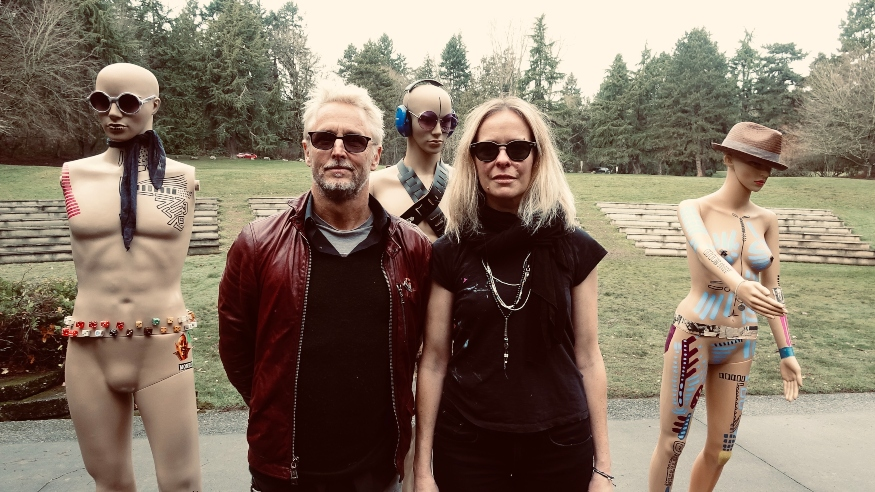 Pearl Jam guitarist Mike McCready and artist Kate Neckel bring 'Infinite Color and Sound' to Public Arts