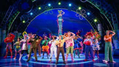 New England native sets sail in 'The Spongebob Musical'
