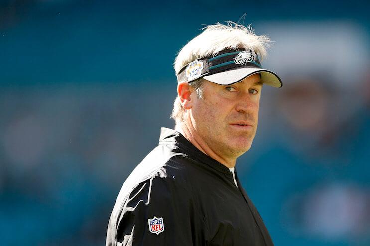 Eagles head coach Doug Pederson. (Photo: Getty Images)