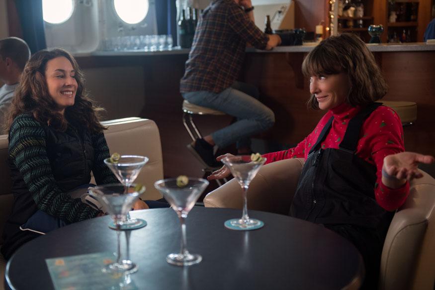 """Troian Bellisario stars as Becky and Cate Blanchett as Bernadette Fox in Richard Linklater's """"Where'd You Go, Bernadette."""""""