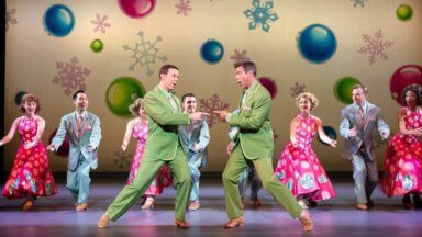 Daniel Plimpton on being home for the holidays with 'White Christmas'